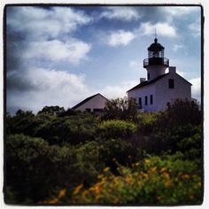 The old San Diego lighthouse. #spring #california #vacation #coastal #instagram #instagood