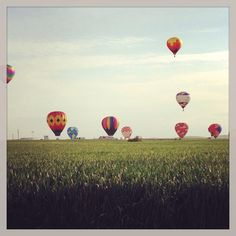 Balloon Stampede, Walla Walla, Washington