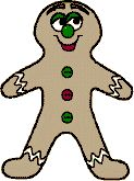 The Gingerbread Man Puppets or Felt Board Characters
