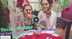 The Social Sisters, Scarlett and Savannah, count the days until Christmas with their Advent Calendars! Check back daily to see what surprises await the Social Sisters! https://youtu.be/tubDK3Fi3UU Two posts/chances to win check morn&evening! This week's contest is a $50 PF Chang's GC! Winner announced 12/5! Good Luck! To win this prize: Follow and like us on all of our social media platforms (click through from website)!  Like this post for entry. See website for more.
