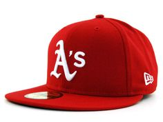 innovative design 8d1e3 da747 Oakland Athletics New Era MLB C-Dub 59FIFTY Cap Hats Major League Baseball  Teams,
