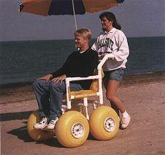 All Terrain Beach Wheelchair ATC100 - Integrity Custom Concepts Value Beach Wheelchairs | TopMobility.com