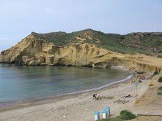 playa de San Juan de los Terreros junto a Mar de Pulpí