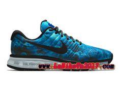 super popular 84957 f5bfa Homme Nike Air Max 2017 iD Bleu Noir Chaussures Basket Pas Cher 918091-996  Nike