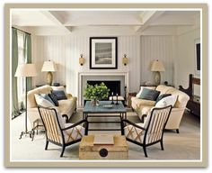 Furniture Layout Ideas : Balance and Symmetry