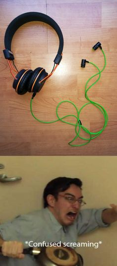 I think this is cool, so it's not awkward when you have to share headphones and it's easier for the ear buds