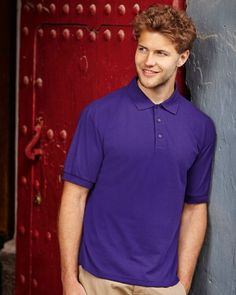 63402 Fruit Of The Loom 65-35 Pique Polo