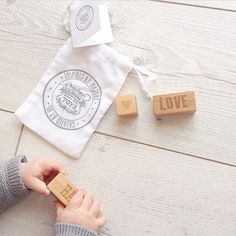 ❤️ #love #happy #onmymindblocks by #woodenstory ✨ picture from @natalyn_k  - one of our giveaway winners ☺️ #woodenblocks #ecocertified finished with #beeswax and #botanicaloils #ecotoy #ecoproduct #FSCcertified #handcrafted in #beskidymountains #poland