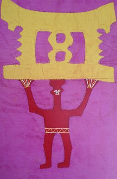 Asafo flag detail