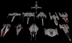 rebel_and_republic_starfighters_by_majestic_msfc-d5rj86t.png 1,474×891 pixels
