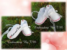 11 baby booties freeyour choice Sneakers for by EmbroideryByTM