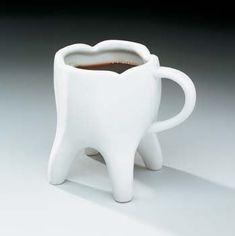 Tooth coffee mug- I've never seen something so perfect.