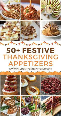 50 Festive Thanksgiving Appetizers - - Get your Thanksgiving dinner started off right with these festive and flavorful Thanksgiving appetizers that your guests will love! Thanksgiving Dinner Recipes, Thanksgiving Parties, Thanksgiving Sides, Holiday Recipes, Christmas Desserts, Appetizers For Thanksgiving, Holiday Parties, Christmas Holidays, Friendsgiving Ideas