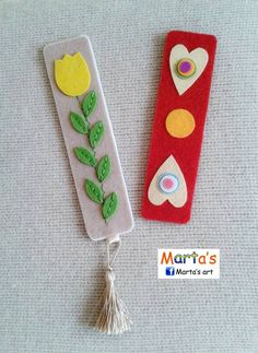 felt bookmarks                                                                                                                                                      More