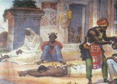 O cirurgião negro - Debret, 1834