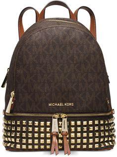 Michael Kors MICHAEL Michael Kors Rhea Zip Small Studded Backpack - $187.95