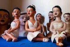 ARTEEMTER: Mulheres modelam mulheres de barro – Artesanato Mineiro