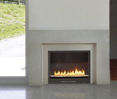 Chimeneas De Chimenea Modernas Gas Fireplace Mantel Wood