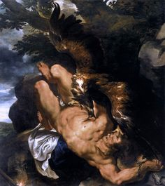 """Happy birthday to Peter Paul Rubens, the artist behind the enormous and captivating """"Prometheus Bound."""" See works by Rubens in """"The Wrath of the Gods: Masterpieces by Rubens, Michelangelo, and. Peter Paul Rubens, National Gallery Of Art, Art Gallery, Rembrandt, Michelangelo, Pedro Pablo Rubens, Art Du Temps, Rubens Paintings, Fantasy Paintings"""