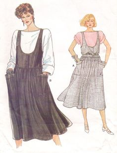 80s Very Easy Vogue Sewing Pattern 8978 Womens Top by CloesCloset, $9.00