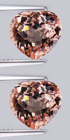 Morganite 110802: 2.22Cts Natural Gennuine Peach Pink Color Morganite Heart Shape Nice Loose Gem ! -> BUY IT NOW ONLY: $39.99 on eBay!