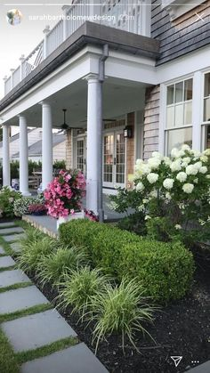 41 Perfect Front Garden and Landscaping Idea You Can Do Ta. - 41 Perfect Front Garden and Landscaping Idea You Can Do Take a peek at our ga - Porch Landscaping, Small Front Yard Landscaping, Landscape Ideas Front Yard Curb Appeal, Modern Garden, Front House Landscaping
