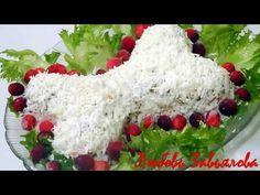 Новогодний салат Косточка, чтобы привлечь удачу в год Собаки!/Lettuce bone for a NEW YEAR - YouTube