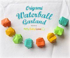 Origami Waterball Turorial from Sara at KittyBabyLove   Hurried Homemaker