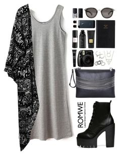 """""""Romwe 4"""" by scarlett-morwenna ❤ liked on Polyvore featuring Moncler, Prada, Tom Ford, Living Proof, MAKE UP FOR EVER, Eight & Bob, Forever 21, NARS Cosmetics, romwe and followforfollow"""