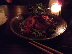 A dish in the dark. . .