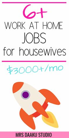 best online jobs for housewives & Make money online from home TODAY Want to work from home? Looking for the best online job for housewives sitting at home or wanting to return to work? Grab this list RIGHT NOW and get started [… Earn Money From Home, Earn Money Online, Way To Make Money, Online Earning, Online Work From Home, Work From Home Tips, Jobs For Housewives, Best Online Jobs, Marketing Jobs