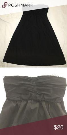 Little Black Dress Expressive size small black dress. Strapless Express Dresses Backless