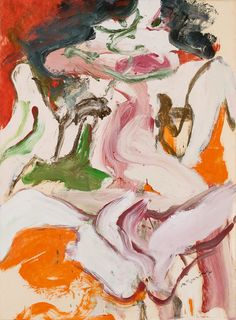 Willem de Kooning, Woman as Landscape, 1965-66.