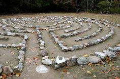Labyrinth at Shrine Mont
