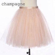 Adult champagne tutu skirt petitcoat beige tulle by Fanfaronada, €100.00