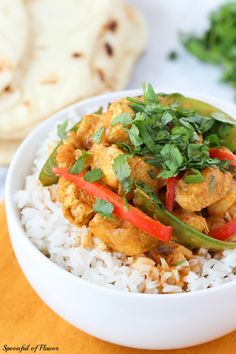 Coconut Chicken Curry - Spoonful of Flavor