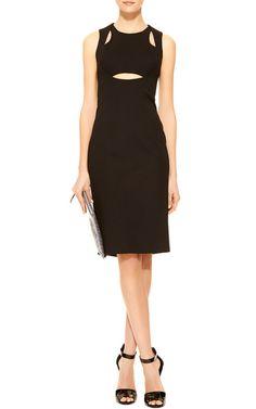Oscar Cut-Out Jersey Dress by Cushnie et Ochs - Moda Operandi