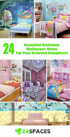 Awesome 24 Beautiful Bedroom Wallpaper Design Ideas For Your Beloved Daughters https://24spaces.com/interior-design/24-beautiful-bedroom-wallpaper-design-ideas-for-your-beloved-daughters/