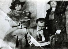 Kazantzakis with his wife Galatea and his sister Anastasia Kazantzaki-Saklambani in Athens, 1915 Zorba The Greek, Magnum Opus, Crete, Athens, Anastasia, Novels, Men, Romance Novels, Romans