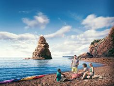 The top 10 things to do in Nova Scotia - Explore hundreds of hiking and cycling trails, vast oceans for surfing, rafting and whale watching.