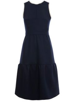 Mother of Pearl florence dress navy