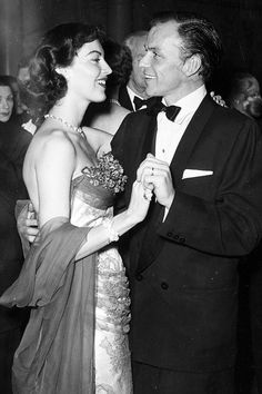 Ava Gardner and Frank Sinatra.