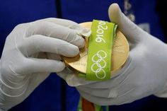 The medals that will be awarded at Rio are the most sustainable in Olympic history: much of the silver is recycled from old mirrors and X-ray plates;