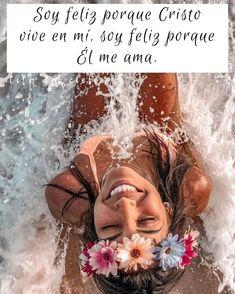 """Cita del Cielo on Instagram: """"Mi felicidad viene de Dios💖 #Diosesfiel #Diosesbueno #bondad #bendiciones #Jesús #EspírituSanto #corazon #confianza #promesa #fidelidad…"""" Facial Tips, Dear God, Faith, Disney, Instagram, Ideas, Women, Texts, Gods Promises"""