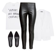 Outfit #2 by margotrobbie on Polyvore featuring moda, DKNY, H&M and Jigsaw