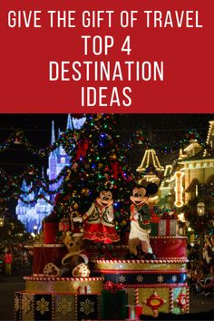 Stop! We have found the perfect gift. Give the gift of travel.