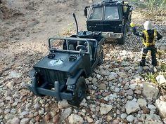 CUSTOM Hasbro GI Joe Cobra Supply Truck, Jeep, and Drone Free Shipping!   | eBay
