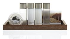 Hotel Bathroom Amenities Tray Design Ideas