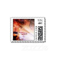 Music of the Universe Postage Stamp