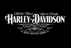 I was lucky enough to be asked to work with the legendary Harley-Davidson brand…